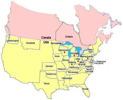 Amish map P