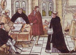 Luther-vor-Cajetan