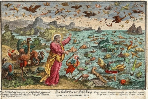 Creation of Animals Sadeler 1585