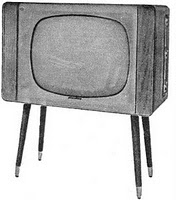 TV set 1960's