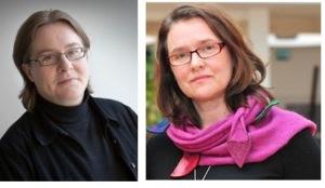 Dosentti, YTT Aini Linjakumpu ja yliopistonlehtori, YTT Johanna Hurtig