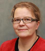 Yliopistonlehtori, kirkolliskokousedustaja Johanna Lumijärvi. (Kuva: Kotimaa24.)
