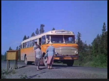 Matka Koillismaalle ja Kainuuseen: Kiertomatka postiautolla. Tv-ohjelma vuodelta 1963.