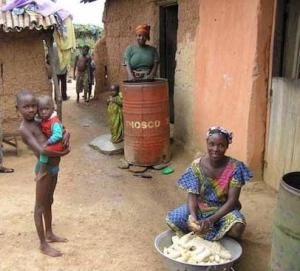 Elämää kotona, Togossa.