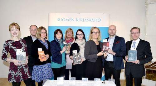 Tieto-Finlandia -palkintoehdokkaat 2014. - Kuva: Martti Kainulainen, Lehtikuva
